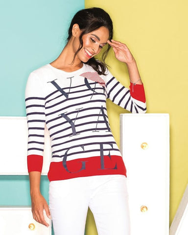 Elena Wang Voyage Sweater EW26149