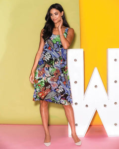 Elena Wang Oasis Tiered Dress EW26181A