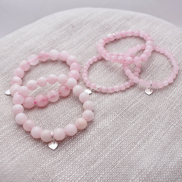 Green Eyed Kitty Rose Quartz Collection