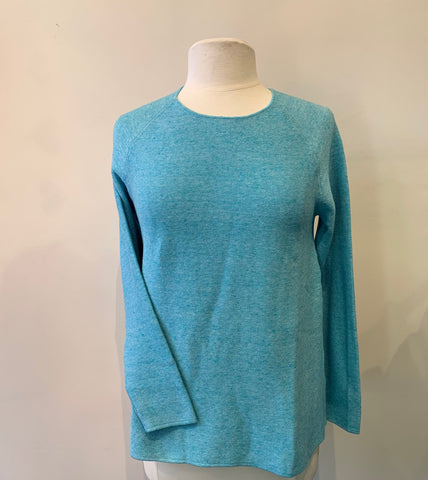 Mansted Moby Sweater - Turquoise