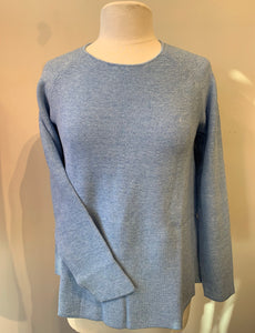 Mansted Moby Sweater - Denim