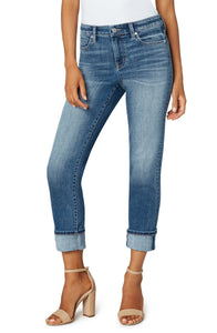 Liverpool Marley Girlfriend Cuff Jeans LM5158F92