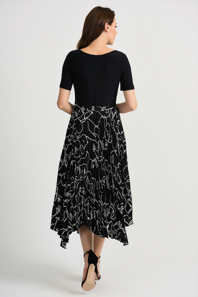 Joseph Ribkoff Pleated Dress 201107