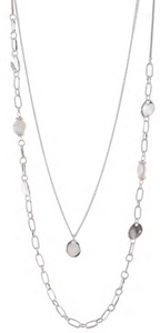 Merx Layered Pearl Necklace 06-4846