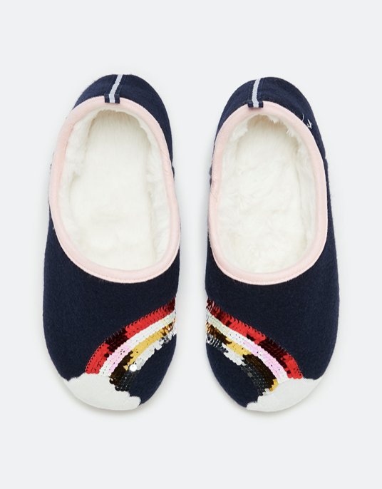 Joules Rainbow Slippers 209799