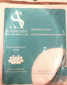 Alison Sheri Mask Filters (5 Pack)