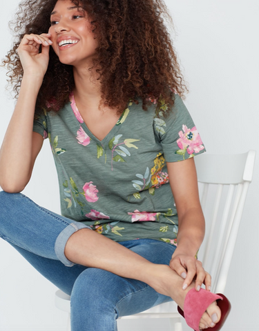 Joules Printed Celina T-shirt 213754