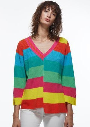 Zaket & Plover Colour Stripe Sweater ZW2208U