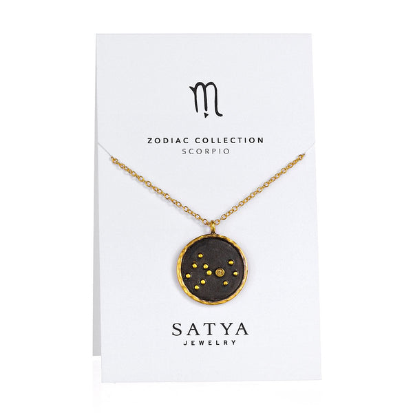 Satya Scorpio Zodiac Necklace