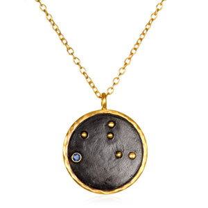 Satya Virgo Zodiac Necklace