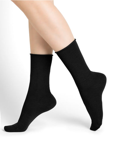 Bleuforêt Roll Top Wool Socks 6700