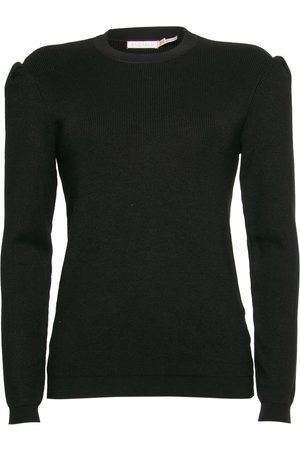 Esqualo Shoulder Gathering Sweater 07508