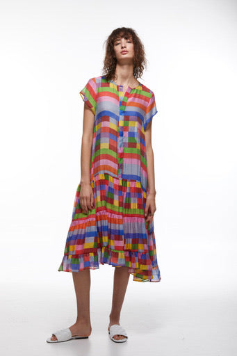 Zaket & Plover Tiered Hem Dress ZW2218U