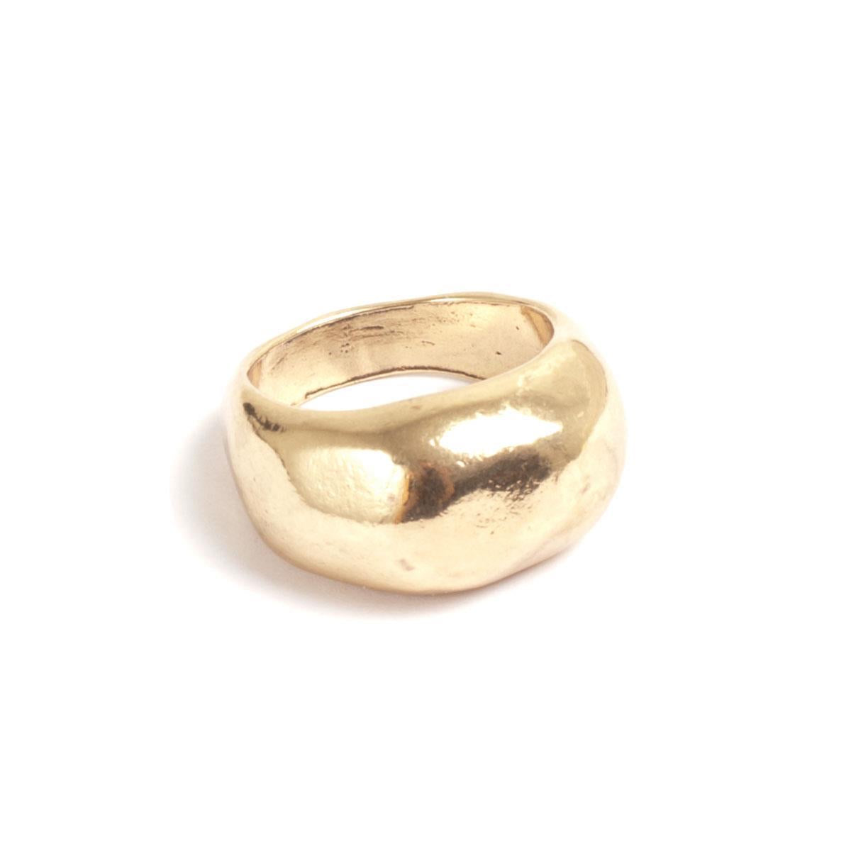 A&C Hammered Statement Ring 4018-0051