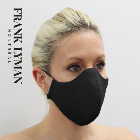 Frank Lyman Solid Masks 40051 -Black
