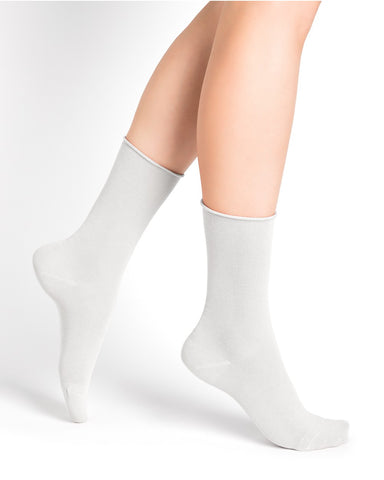Bleuforêt Roll Top Cotton Socks 6594