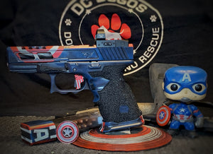 Custom pistol display
