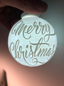 Lithophane Ornaments