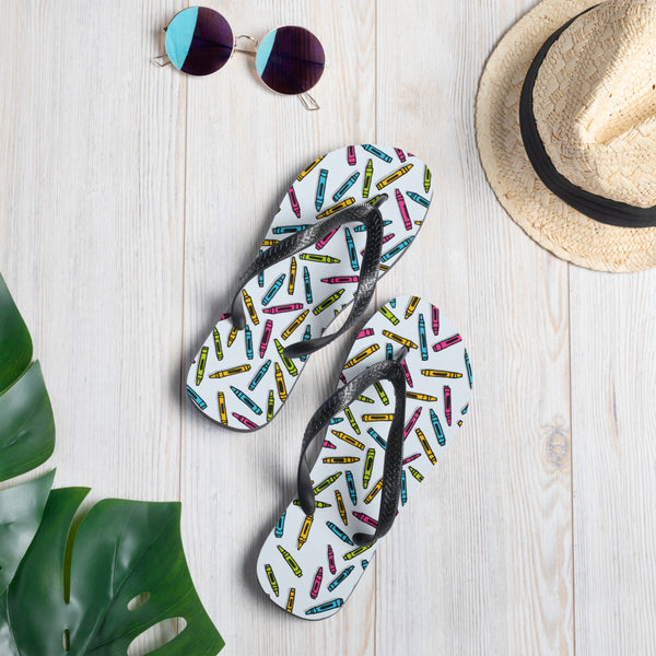 Coloring Book Casual Flip-Flops