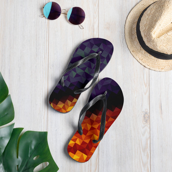 Fire & Ice 2 Casual Flip-Flops
