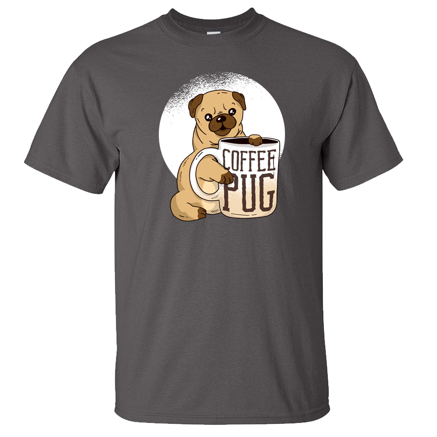 Coffee Pug Dog Shirt