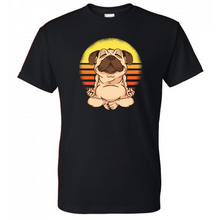 Load image into Gallery viewer, Yoga Pug Dog Shirt