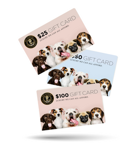 Pet Luxury Gift Card