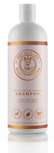 Sweet Pea & Vanilla Shampoo with Soothing Aloe & Oatmeal