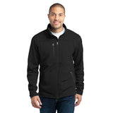 Port Authority® Mens Pique Fleece Jacket