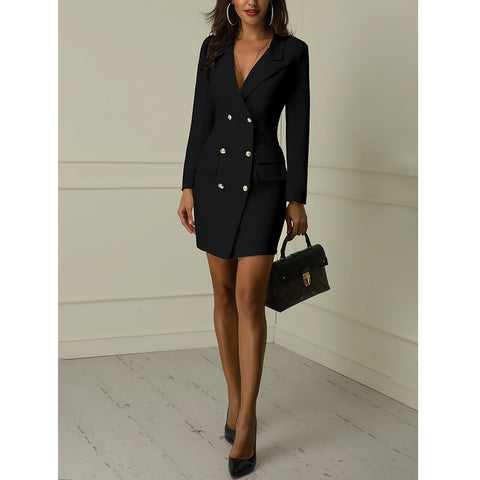 Autumn Winter Suit Blazer Women 2019 - buydressonline