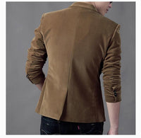 NEW Mens Fashion Brand Blazer British's Style