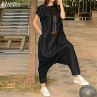 Women's Drop Crotch Jumpsuits 2019