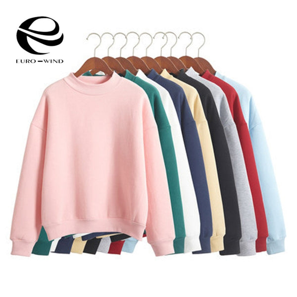 Tops Women Hoodies Casual Female Clothes | 9 Colors