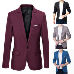 New Korean Men Blazer Casual - buydressonline