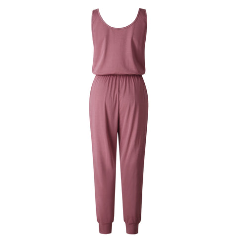 New Arrival  Off Shoulder Sleeveless Belts Jumpsuits - buydressonline
