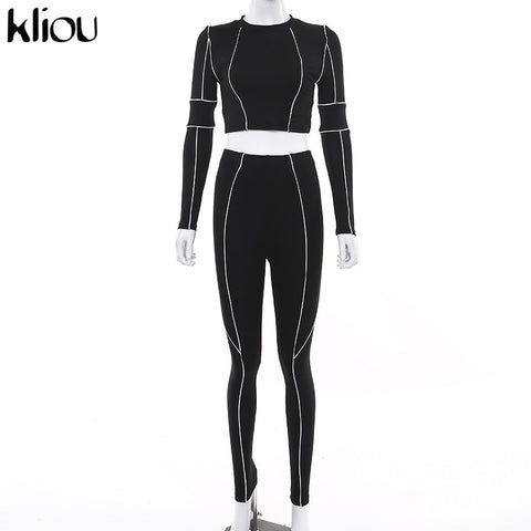 Buy Women Tracksuits | Women fitness two pieces tracksuit