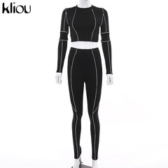 Buy Women Tracksuits | Women fitness two pieces tracksuit - buydressonline