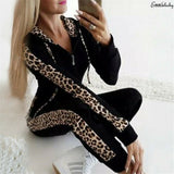 Buy Women Sport Tracksuit Zipper Hoodies Sweatshirt