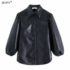 women sleeve black blouse shirts and new fashion of 2020