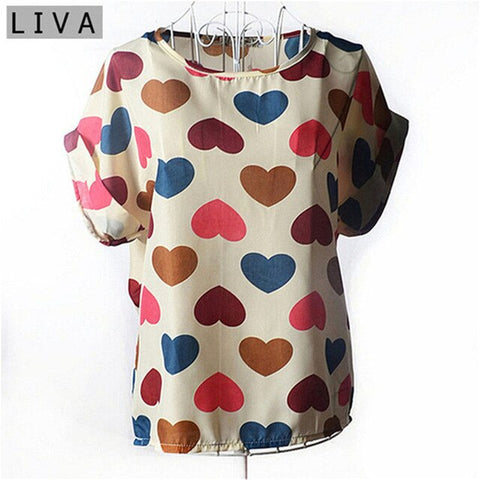 Summer Sleeve Blouse Casual Shirts Solid Ladies Cheap Clothes