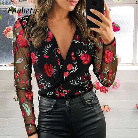 New long Sleeve Blouse women shirts