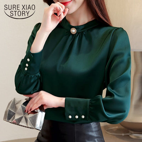 women shirts women tops and blouses chiffon blouse shirt