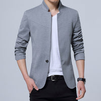 Male Blazers Slim Fit Men Blazer