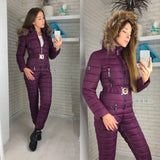 New Winter Hooded Jumpsuits