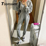 2019 Spring Casual Black White Grey Color Women Jumpsuit