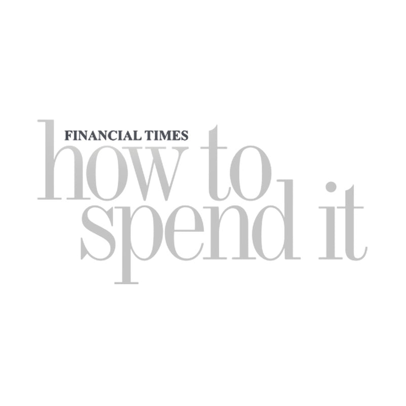 Financial Times How To Spend It Magazine logo for featuring Art Wrd credit card holders.