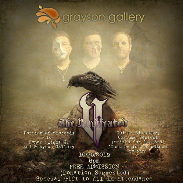 The Vindicated To Headline Halloween Event At Art Gallery