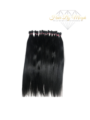 Raw Indian Silky Straight I-Tips