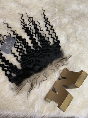 VIRGIN DEEP WAVE LACE FRONTAL