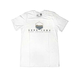 Kona Town Surf Adventures Logo Tee - Winter White